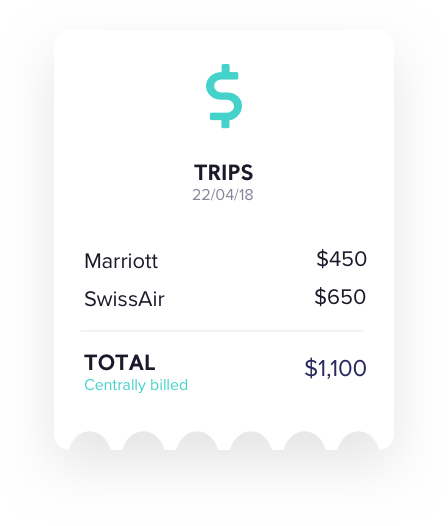 The trip gets instantly created and all your booking data is grouped.