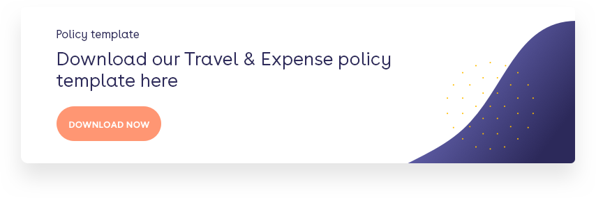 Travel & Expense policy template