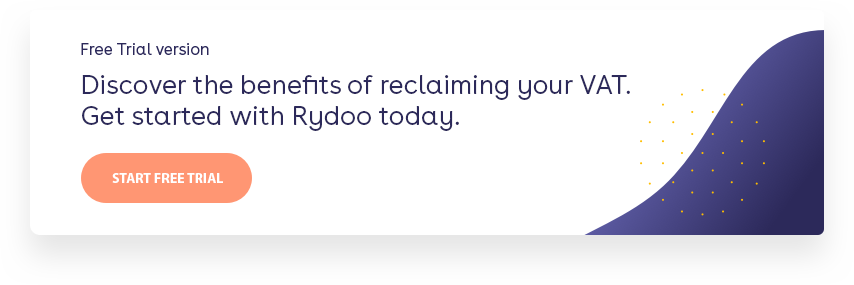 Discover the benefits of reclaiming your VAT. Get started with Rydoo today. Start your FREE trial.